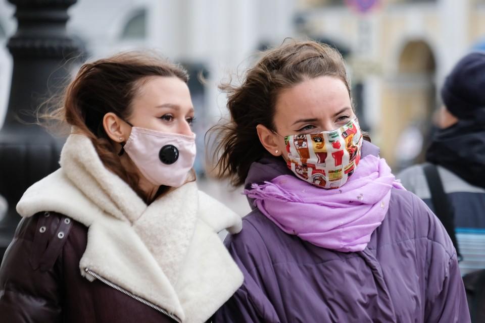 Петербург готовится к новым ограничениям с 23 ноября.