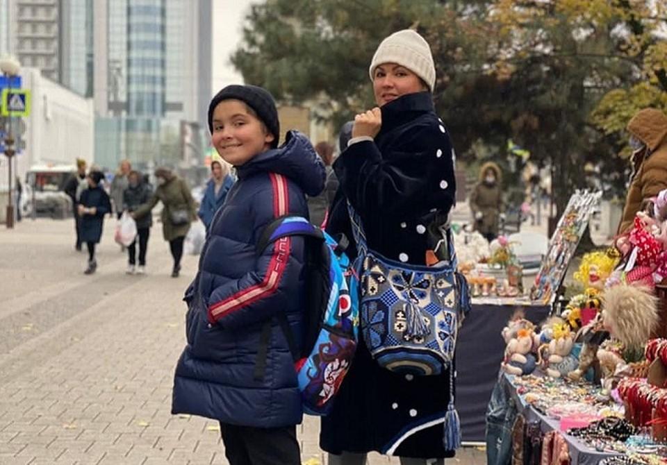 Анна Нетребко с сыном. Фото: Instagram