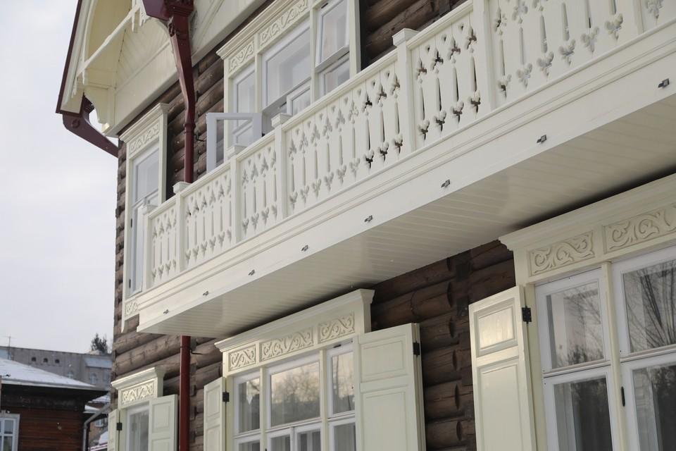 Исторический квартал в Красноярске