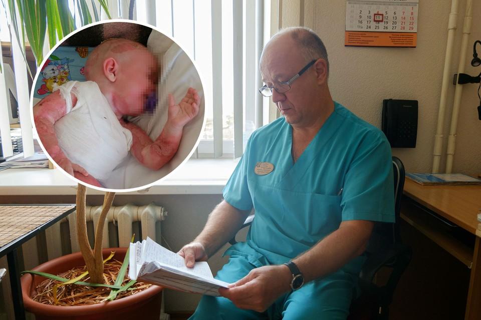 Завотделением гнойной хирургии ЧОДКБ Михаил Погорелов: «Хирурги оперировали командой по пять человек»