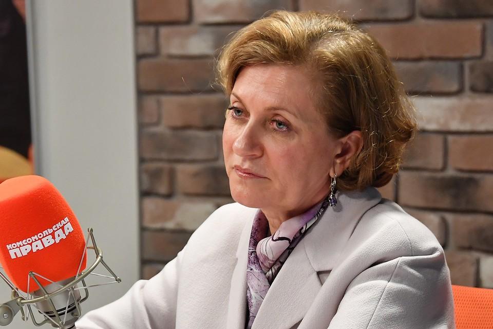 Глава Роспотребнадзора Анна Попова ответила на популярные вопросы о коронавирусе.