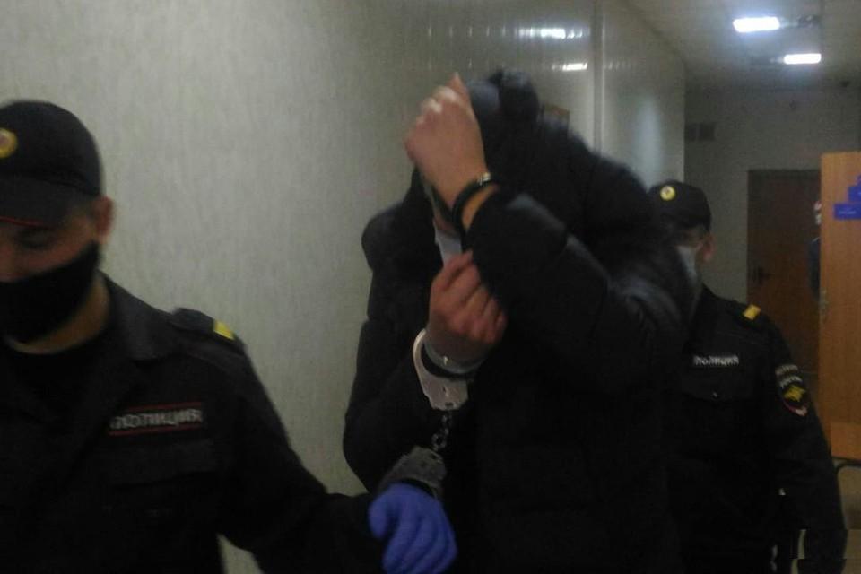 Под арестом Денис Ференец будет находиться 1 месяц 21 сутки. Фото: пресс-служба Управления Судебного департамента в Новосибирской области