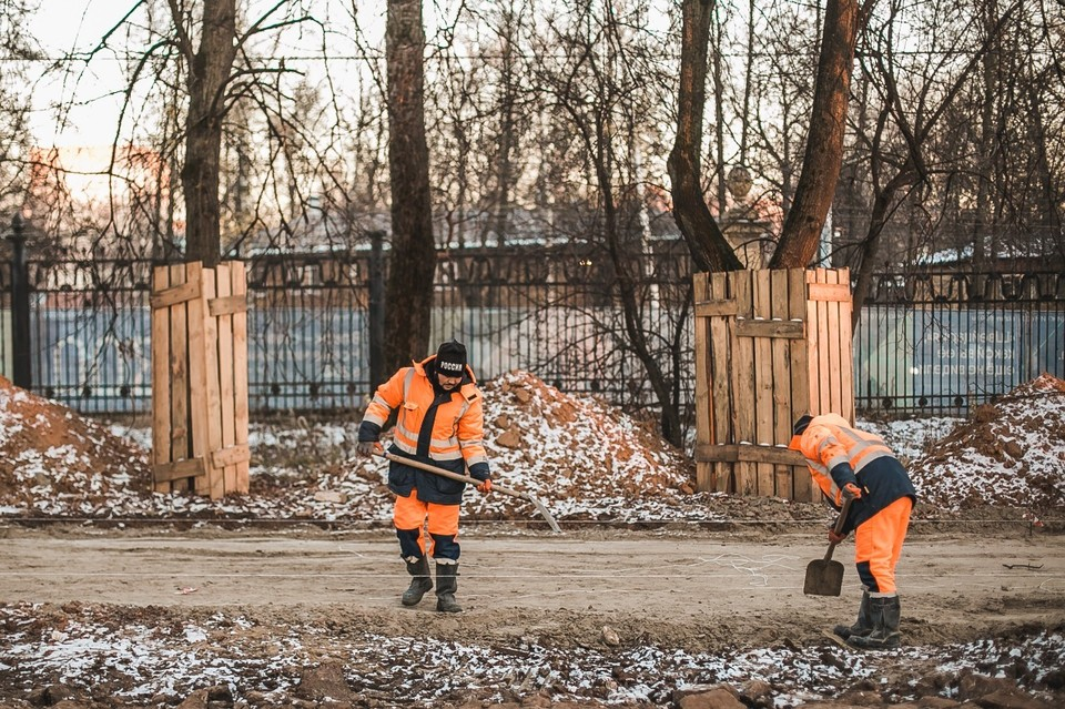 «ГК ЕКС» получили разрешение на удаление больше сотни деревьев, но снесено будет не более 20. Фото: Администрация Нижнего Новгорода