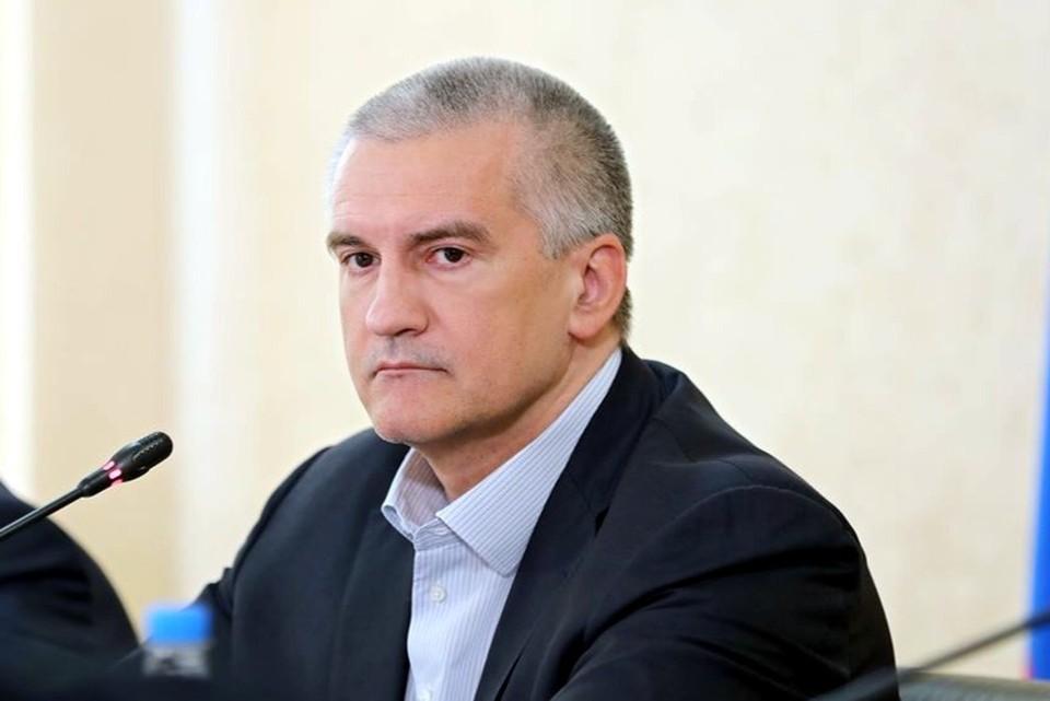 Аксенов заявил о строительстве первого опреснителя. Фото: пресс-служба главы Крыма.