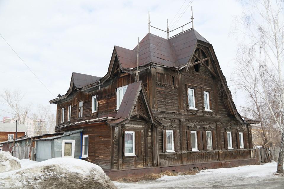 Дом Лесневского в Барнауле