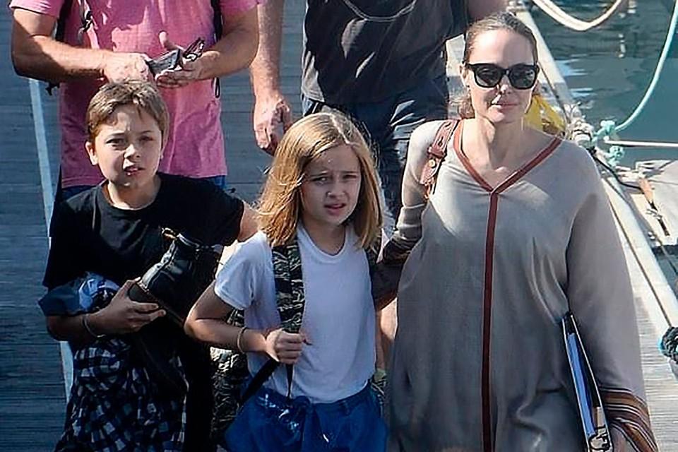 Близнецы Анджелины Джоли и Брэда Питта решили свою судьбу