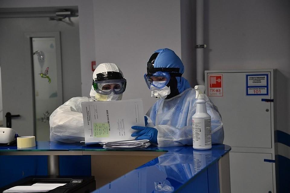 За сутки в Москве выявлено 7918 новых заразившихся коронавирусом