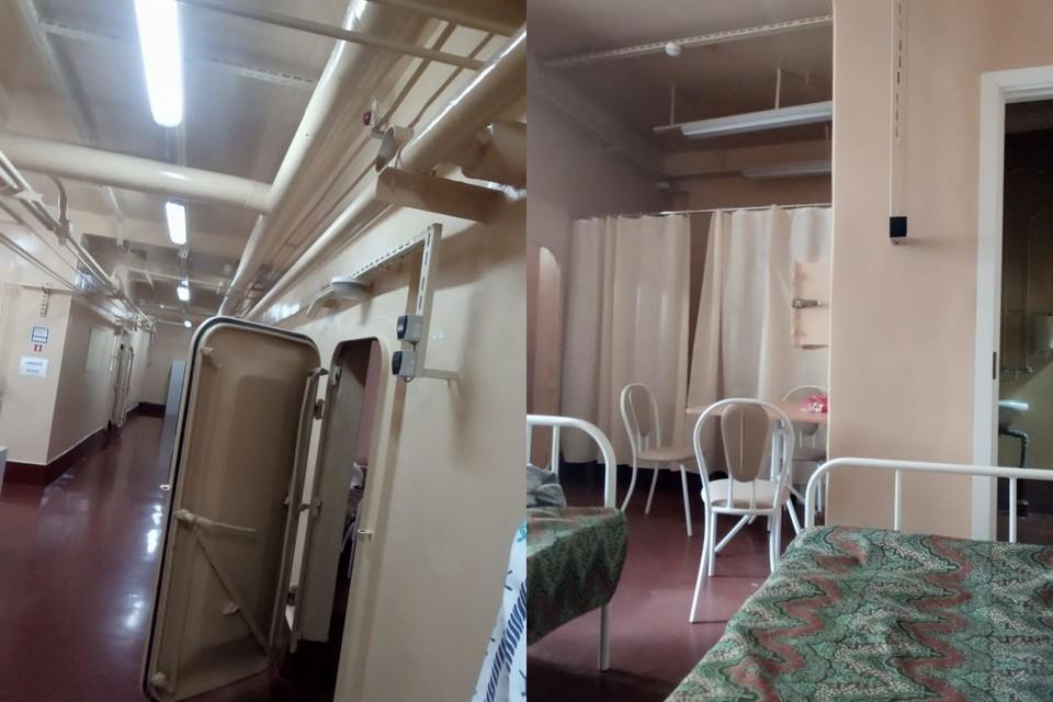 Участников испытания поселили в стационаре, похожем на бункер.