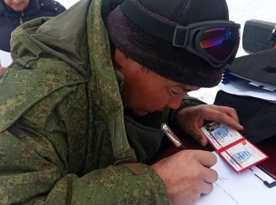 По факту нарушения природоохранного законодательства составлен акт (Фото: NABU-Кыргызстан).