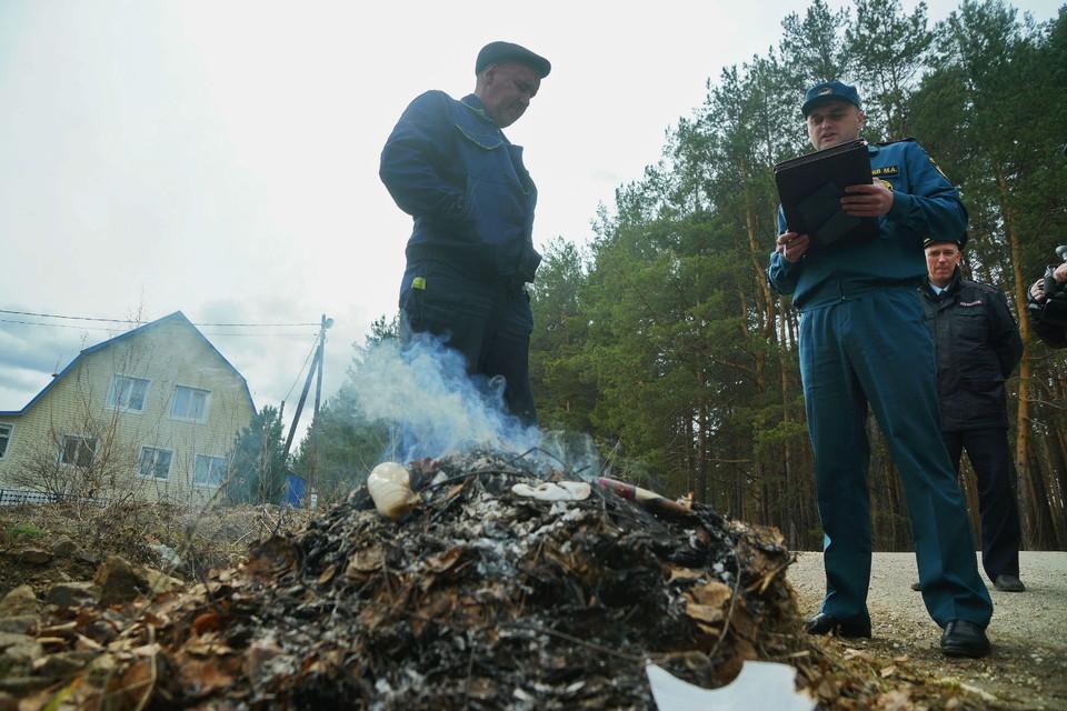 На нарушителей правил пожарной безопасности выписано 252 административных штрафа