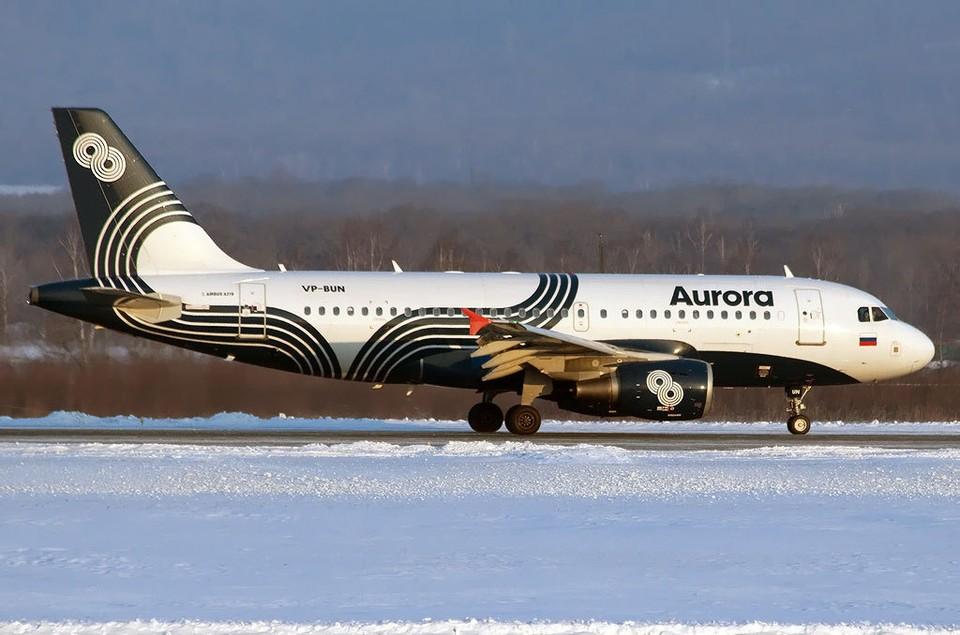 """Самолет будет находиться в аэропорту до решения медицинских специалистов. Фото """"Аврора"""""""