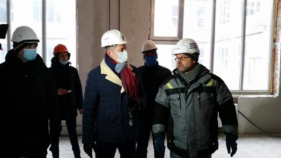 Новую школу на ул. Берша в Ижевске планируют сдать раньше