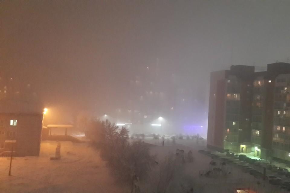 Видео: Кемерово накрыл странный туман