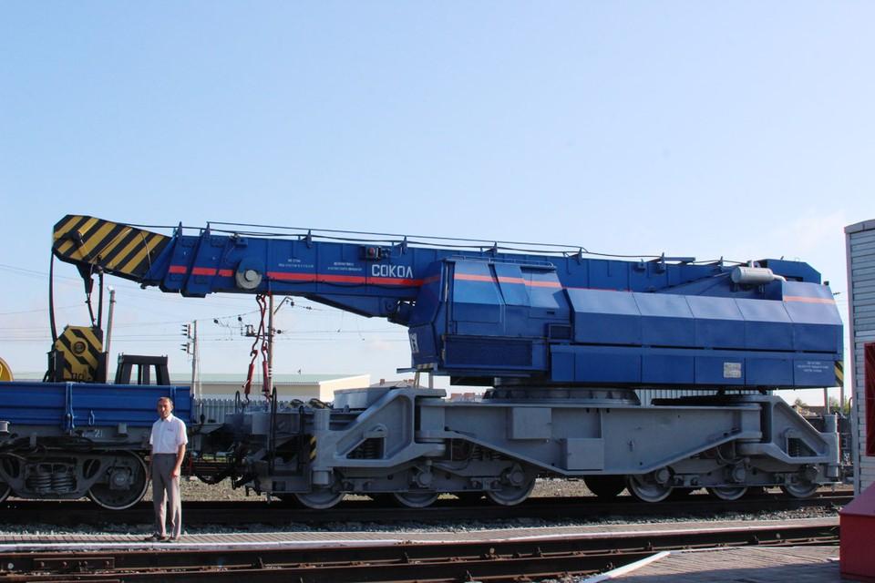 Восстановительный поезд, как и командир, всегда начеку. Личный архив Сергея Антипова