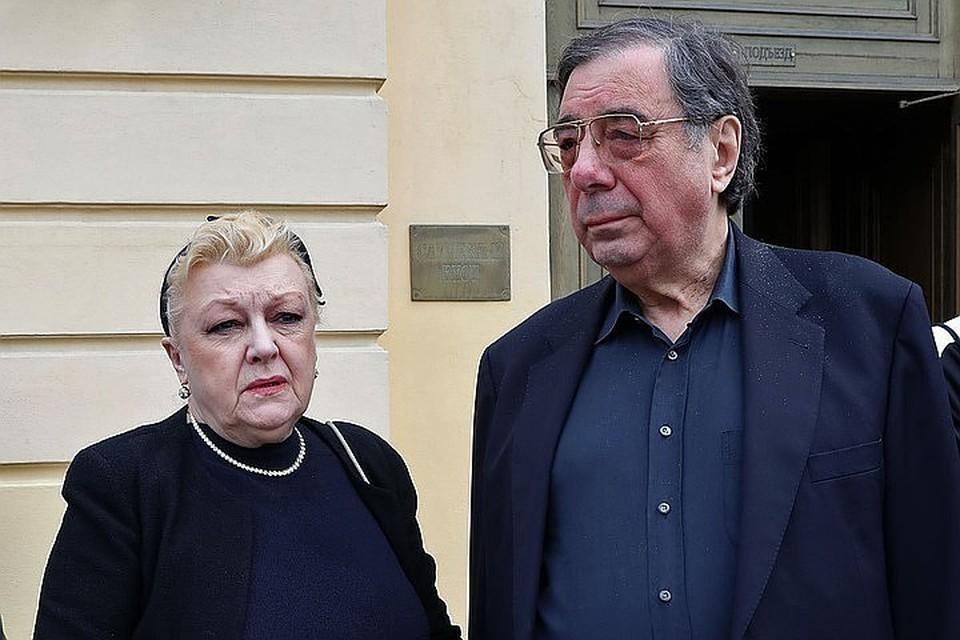 Михаил Цивин и его жена актриса Наталья Дрожжина.
