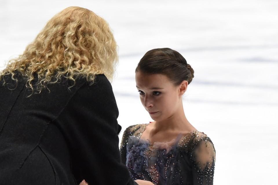 Анна Щербакова долгие годы работает с тренером Этери Тутберидзе.
