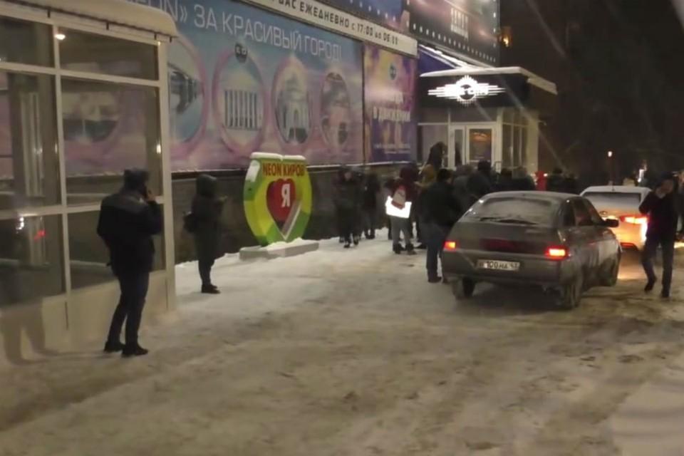 В ночное время в заведении находилось около 100 посетителей. Фото: vk.com/kirovmp