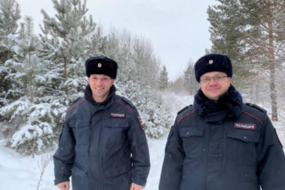 Александр Полищук (справа) Эдуард Новрузов. Фото: ГУ МВД России по Иркутской области