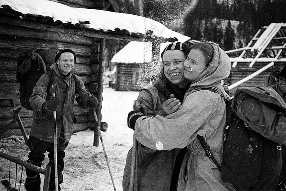 Туристы из группы Дятлова, таинственно погибшие зимой 1959 года