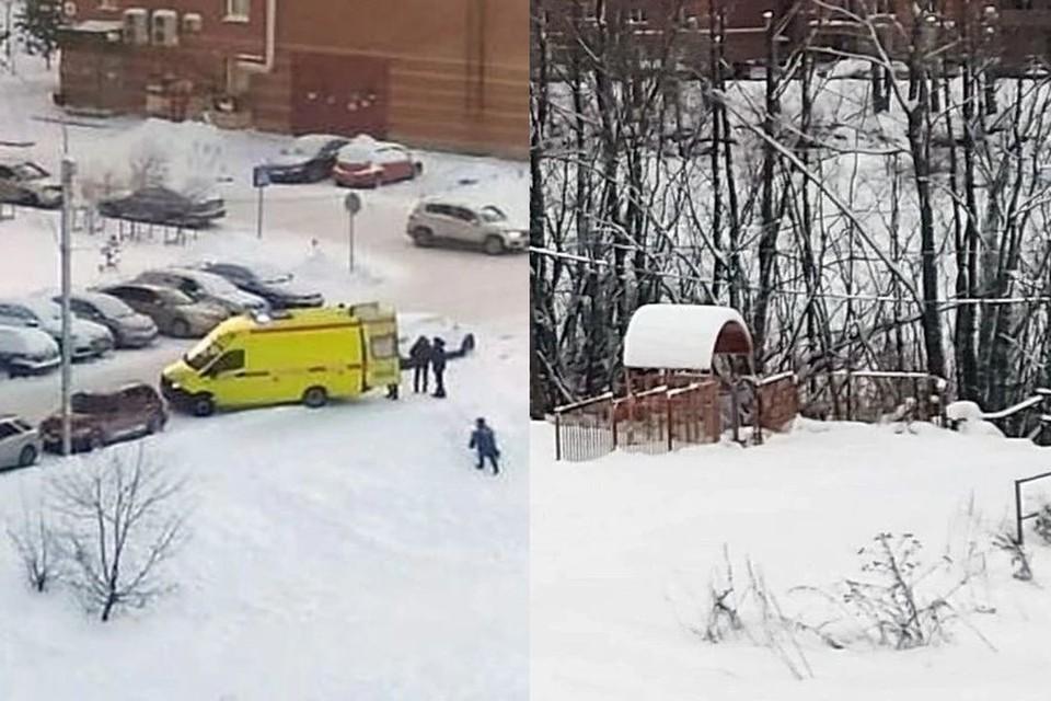 """8-летняя девочка погибла во время катания с горки на тюбинге. Фото: """"АСТ-54"""""""