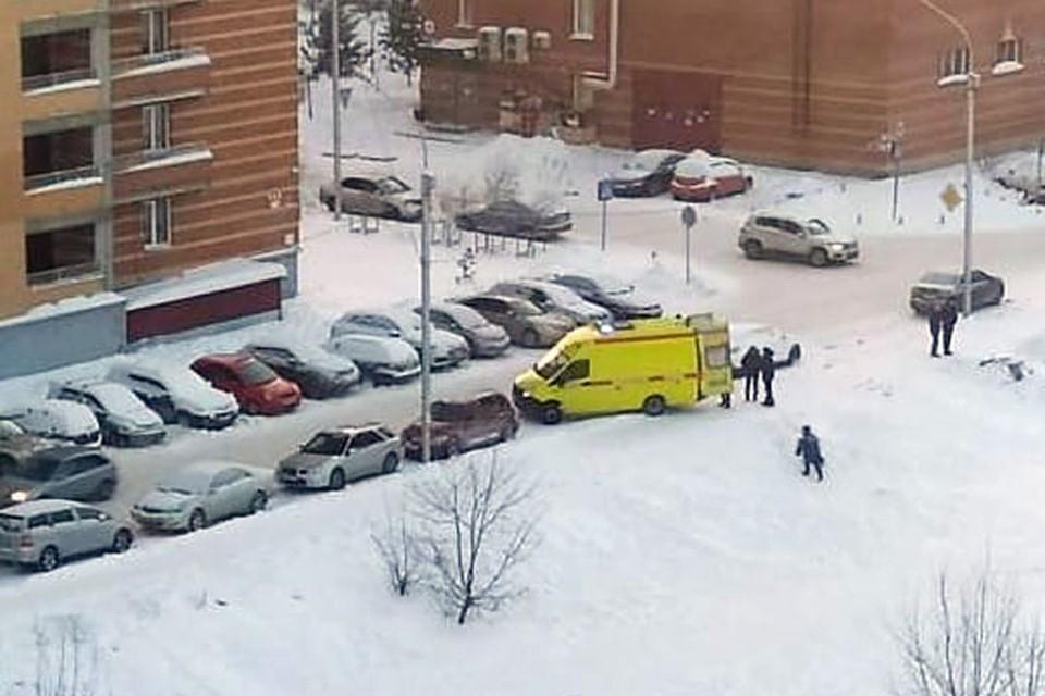"""Тетя 8-летней школьницы из Новосибирска, погибшей 1 января во время катания с горки, рассказала о трагедии. Фото: """"АСТ-54"""""""