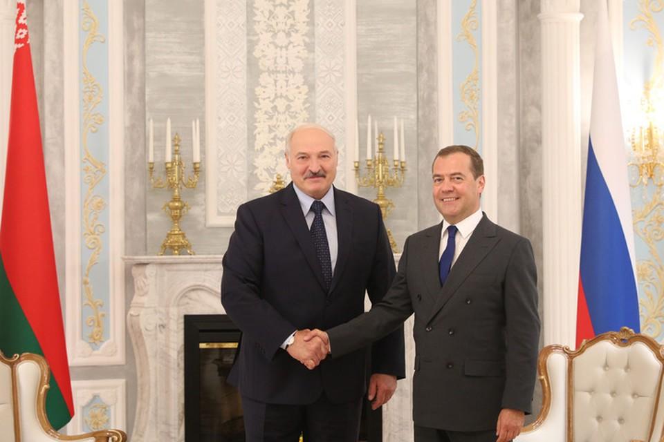 Медведев созвонился 4 января с Лукашенко. Вот что они обсудили. Фото: БелТА