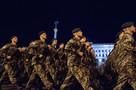 Украинские солдаты исполнили строевую песню про возвращение Крыма и завоевание Москвы
