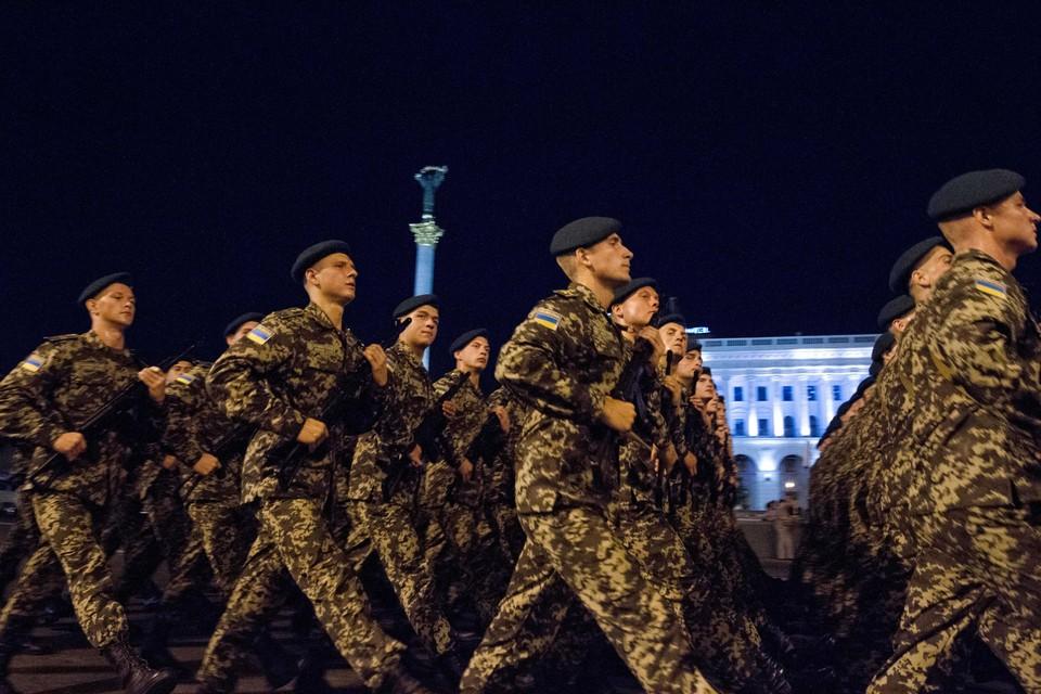 Бойцы ВСУ хором поют о победе над «москалями»