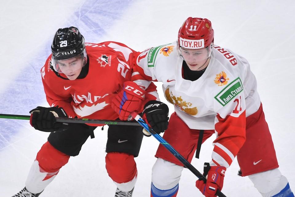 Россия проиграла Канаде со счетом 0:5.