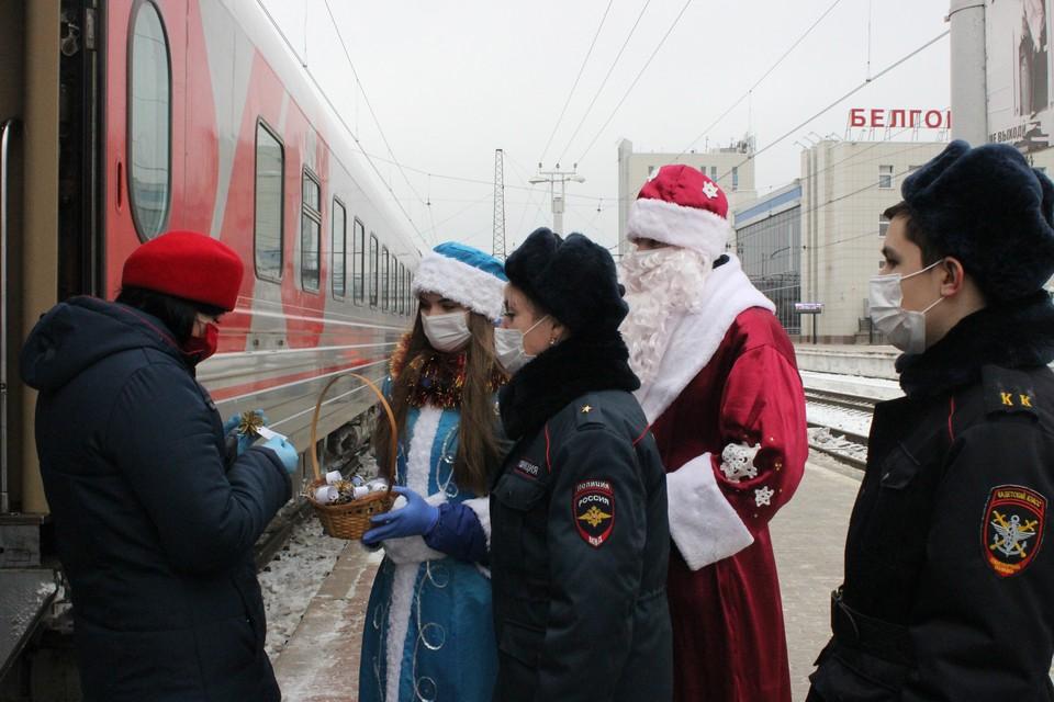 Фото: пресс-служба Белгородского ЛО МВД России на транспорте.