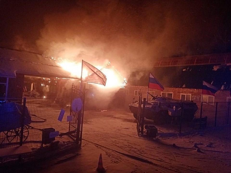 На месте сгоревшего ветблока иркутского питомника «К-9» построят новый