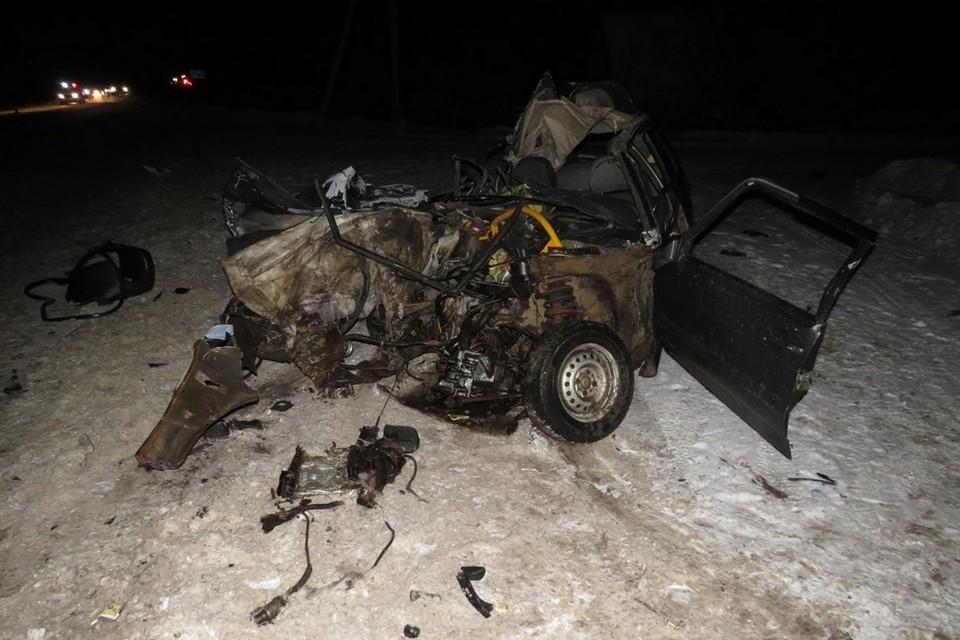 Фото с места аварии. Фото: vk.com/gibdd43