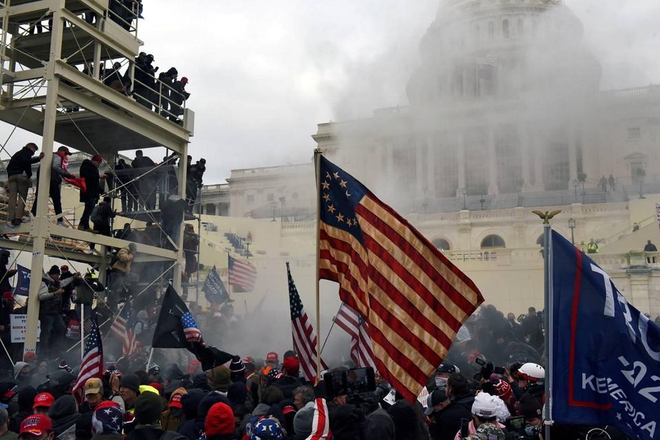 Предъявлены обвинения 55 гражданам из-за массовых беспорядков в США. Фото: Reuters.