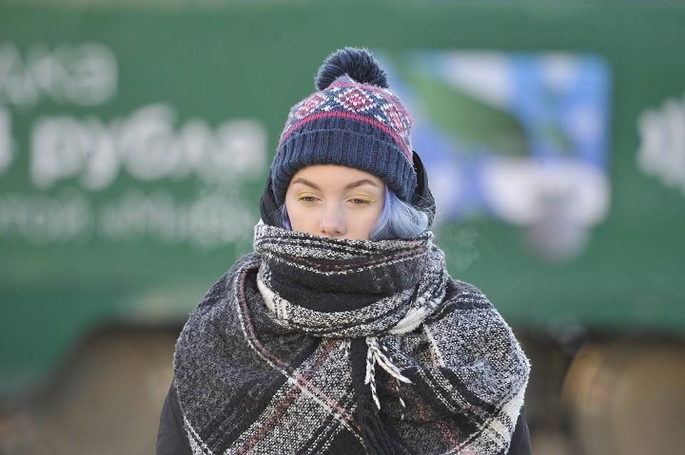 До -35 градусов похолодает 9 января в Кузбассе