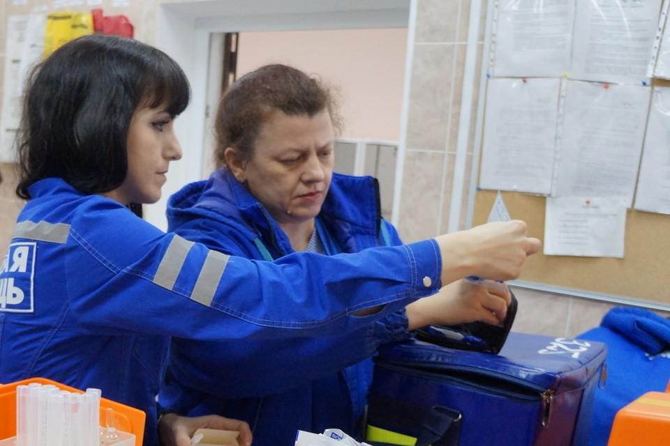 В Тюмени малыш чуть не задохнулся, проглотив осколок от игрушки. Фото - Ирина Бердюгина, пресс-служба ГБУЗ ТО «Станция скорой медицинской помощи».