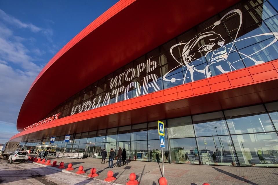 В аэропорту Челябинска произошла утечка газа
