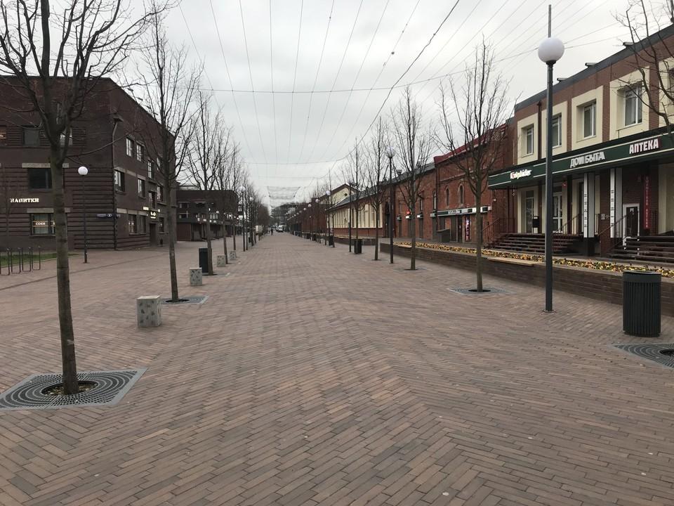 Улица Баранова в Калининграде.