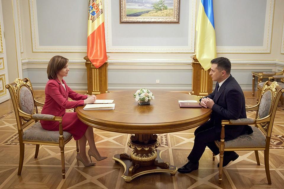 Визит главы Молдовы в столицу Украины— стратегический ход. У Кишинева и Киева есть «общий враг на востоке»