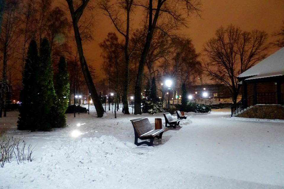 В Липецке обещают небольшой снег