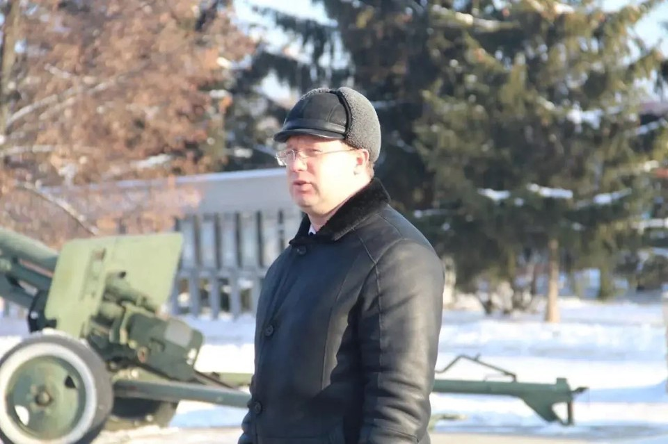 Денис Фадеев. Фото с его страницы Facebook