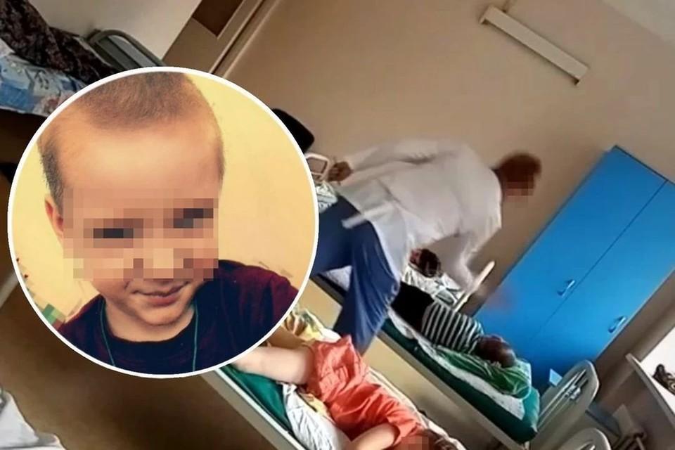 Семья мальчика, которого ударила медсестра в туберкулезной больнице, простила медика. Фото: личный архив