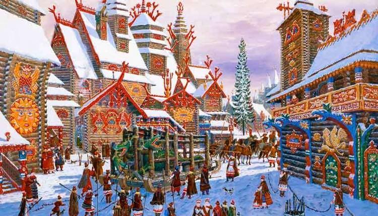 В старинной время на Новый год проводились обряды