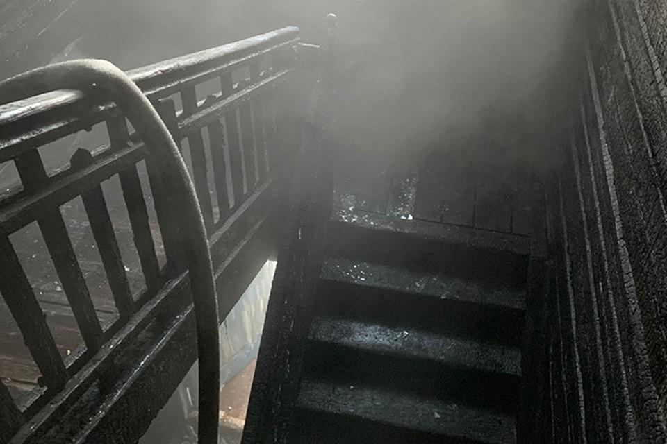 Страшный пожар произошел в Ленинском районе ранним утром 13 января.