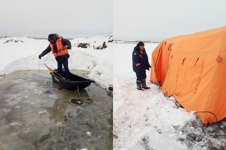Тело 48-летнего бульдозериста спасатели достали со дна карьера около озера «Гогол». Фото: Аварийно-спасательная служба НСО