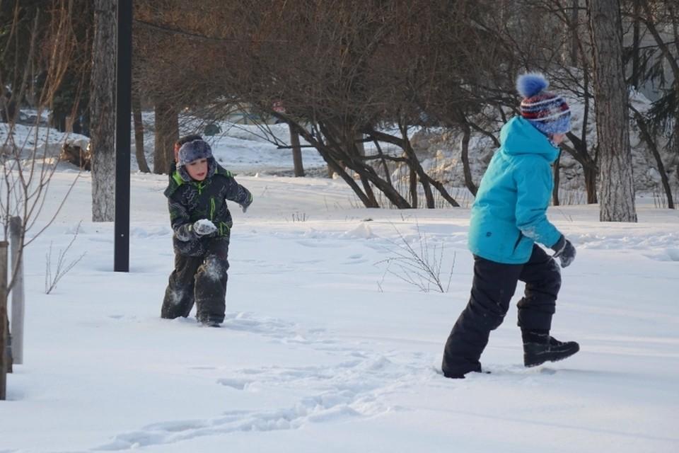От -1 до -34 градусов обещают синоптики на выходных в Кузбассе