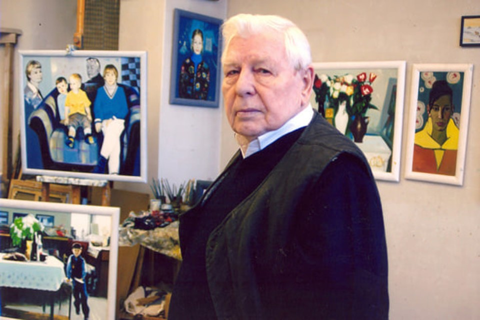 Скончался народный художник Беларуси Леонид Щемелев. Фото: Белорусский союз художников