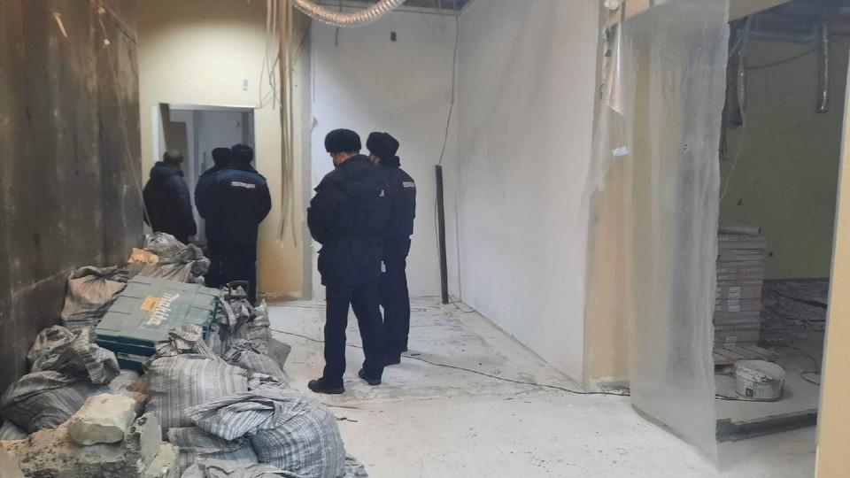 На месте ЧП работает полиция
