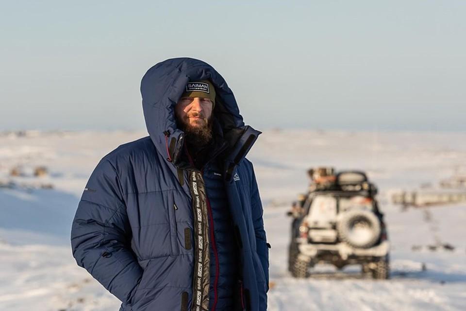 Известный путешественник-экстремал вернулся на Ямал, чтобы увидеть северное сияние