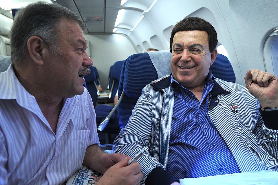 Александр Гамов и Иосиф Кобзон, 2013 г.