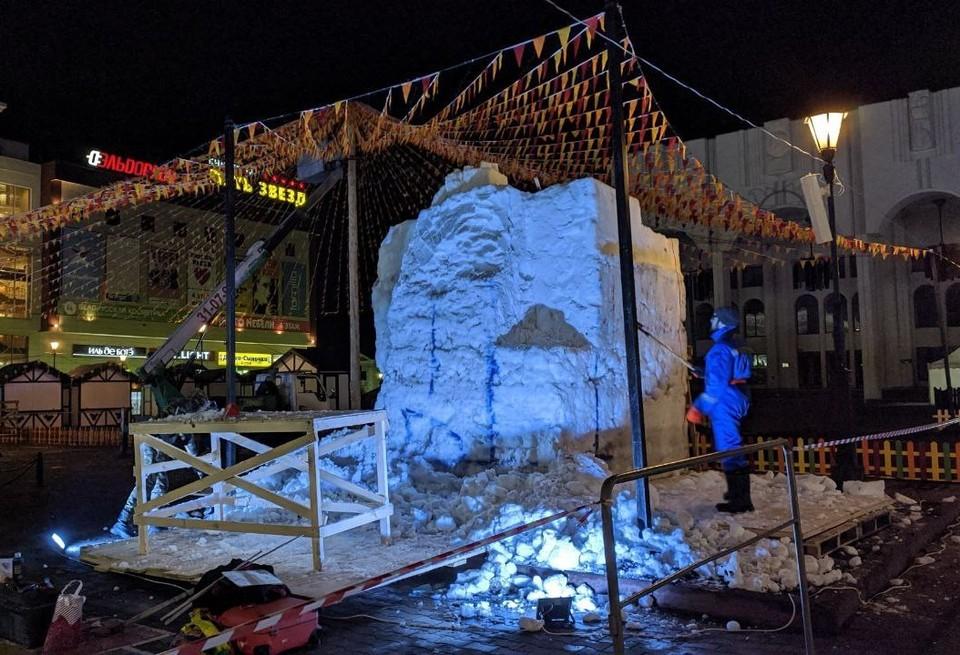 В Курске пройдет фестиваль снежных фигур